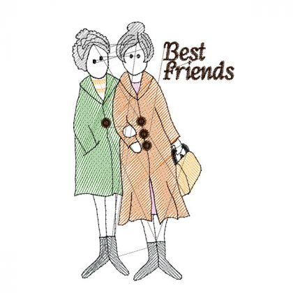 Best Friends 2 - Stitch View