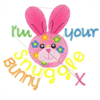 Snuggle Bunny - Stitch View Blank
