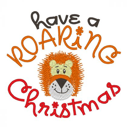 Have A Roaring Christmas - Real View