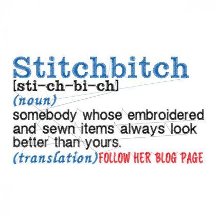 StitchBitch- Stitch View