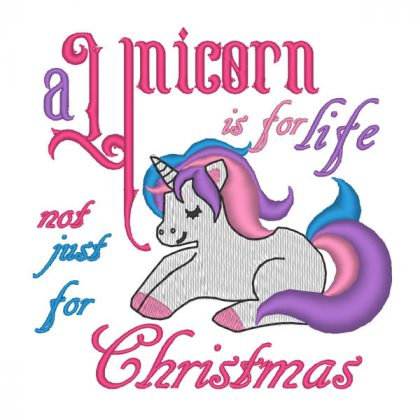 Unicorn Is For Life - Real View