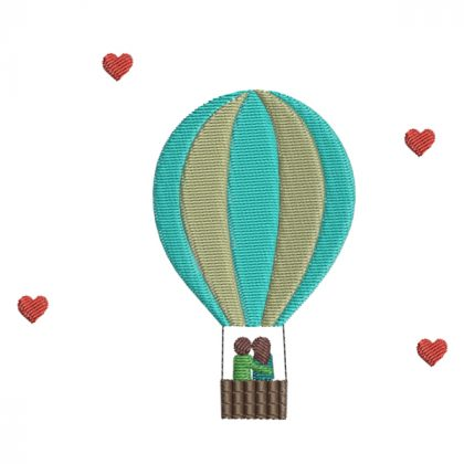 Love is in the air - Real View - Threaded Scribbles