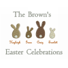 Bunny Family Embroidery Design   Easter Embroidery   Threaded Scribbles