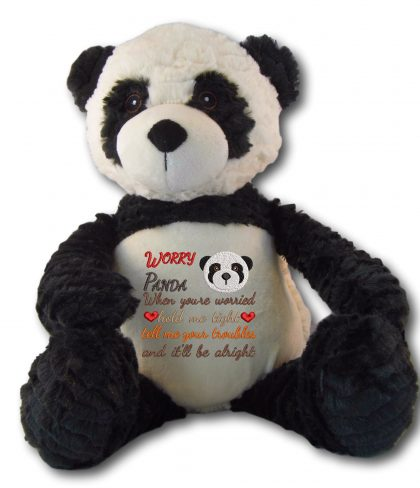 Poppy Panda with Worry Design - Threaded Scribbles